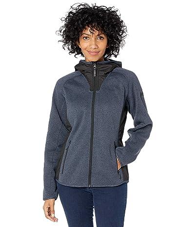 Helly Hansen Varde Hooded Fleece Jacket (Slate) Women