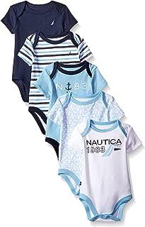 Boys' Newborn Five-Pack Bodysuits
