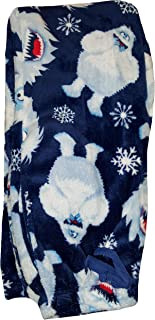 Bumble Rudolph The Red-Nosed Reindeer Navy Fleece Sleep Lounge Pants