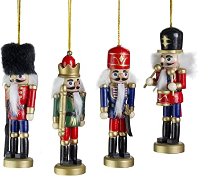 Northlight Nutcracker Ornaments, Red