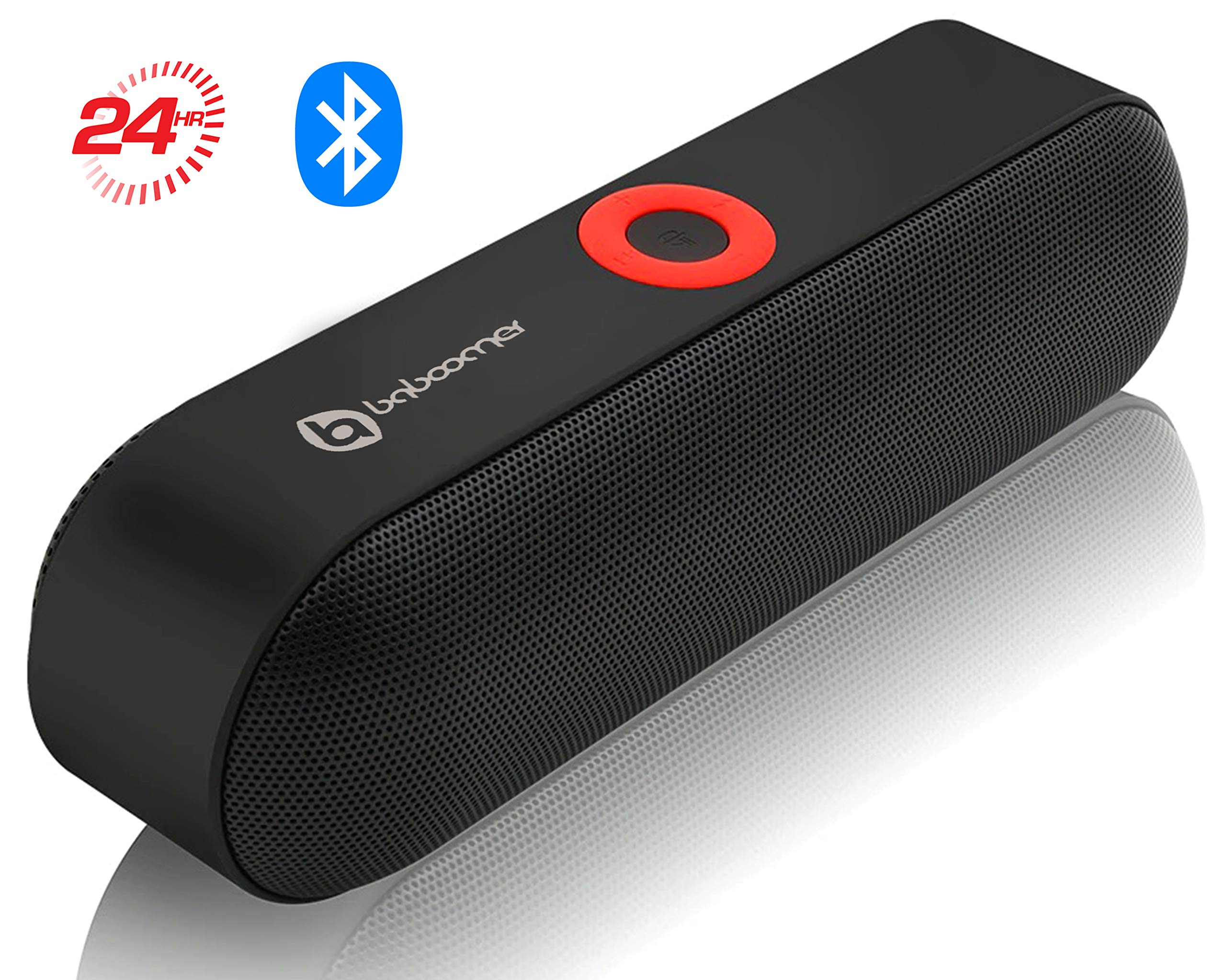 Amazon Com Wireless Bluetooth Speaker With Hd Sound And Bass 24 Hour Playtime 66 Ft Long Bluetooth Wireless Range Built In Mic Dual Driver Speakers Best Portable Wireless Speaker For Samsung Iphone More Electronics