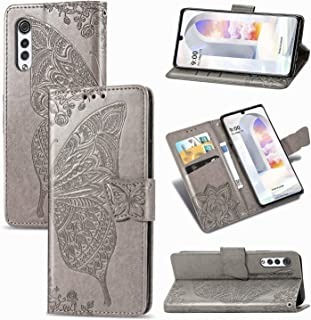 FanTing Case for LG Velvet 5G UW, Wallet Flip Cover with Mobile Phone Holder and Card Slot,Magnetic PU leather wallet case...