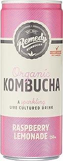 Remedy Organic Kombucha Raspberry Lemonade, 24 x 250ml
