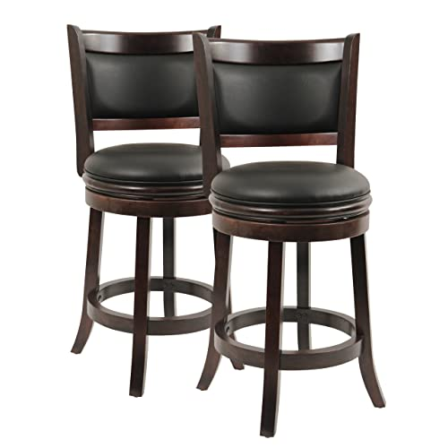 sports shoes 1afb3 96f59 Comfortable Bar Stools: Amazon.com