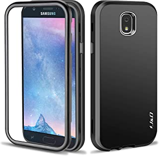 J&D Case Compatible for Galaxy J7 2018 Case, J7 V 2nd Gen/J7 Refine/J7 Star Case, [ArmorBox] [Triple-Layer] [Matte Surface] Hybrid Shock Proof Protective Rugged Case for Samsung Galaxy J7 2018 Case