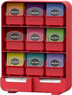 Mind Reader Estante Organizador para Bolsas de Té, 135 Tea Bags