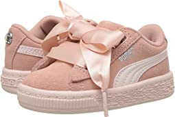 Suede Heart Jewel (Toddler)
