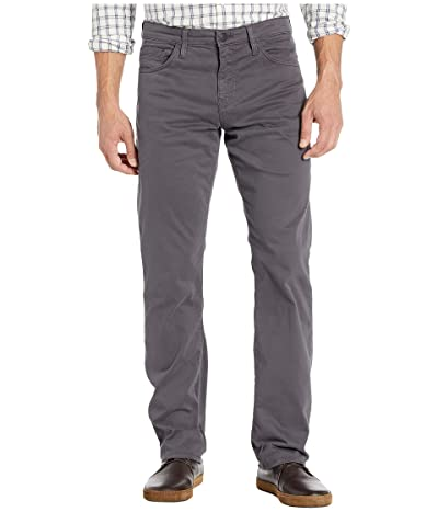 Mavi Jeans Matt Mid-Rise Relaxed Straight Leg in Blackened Pearl Sateen (Blackened Pearl Sateen) Men