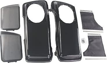 Midnight pearl color Aftermarket pair 6*9 speaker lids for Harley Davidson touring 1994-2013