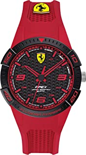 Scuderia Ferrari Unisex's Analogue Quartz Watch with Silicone Strap 0840037