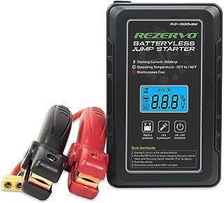 Rezervo Mini Batteryless Pocket Jump Starter with Ultracapacitor Technology RZ-300mini