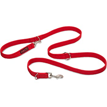 Halti Training Lead For Dogs, Double Ended Dog Training Lead for Halti Head Collar and No Pull Harness, Red Training Lead for Medium Dogs and Large Dogs