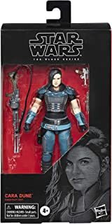 """Star Wars The Black Series Cara Dune Toy 6"""" Scale The Mandalorian Collectible Action Figure, Toys for Kids Ages 4 & Up"""