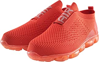 Women's Casual Air Knitted Mesh Comfortable Work Sneakers Athletic, Breathable, Lightweight, Running, Walking, Gym Fashion Sport Shoe by Ke Di Leather USA