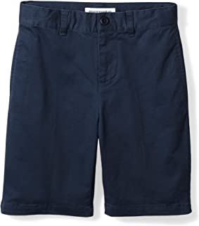 blue school shorts