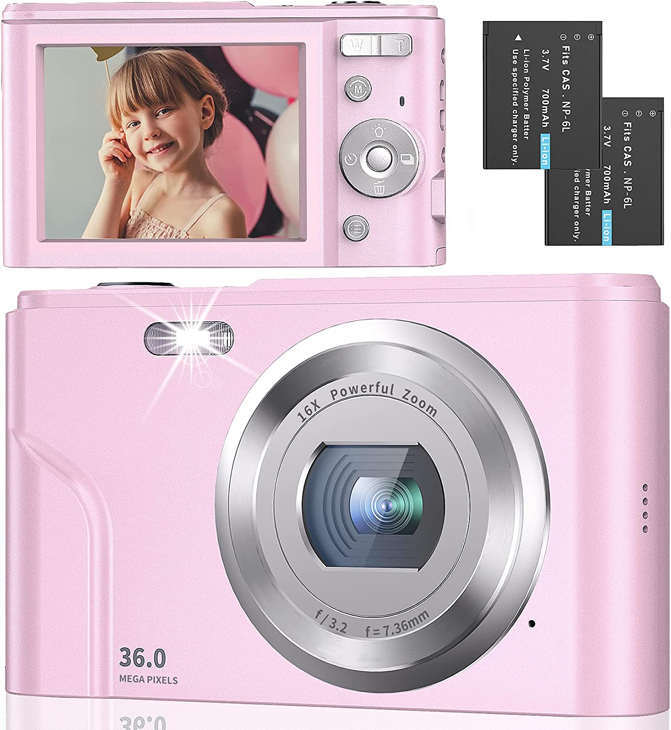Discount mail order Digital Camera Full HD Clearance SALE Limited time 1080P Vlogging 2.4 Inch 36MP with