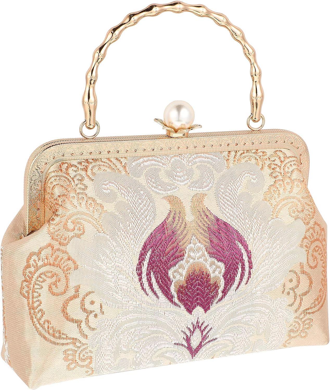ABOOFAN Hand-made Chinese Style Printed Vintage Handbag Cheongsam Bag Gifts for Women
