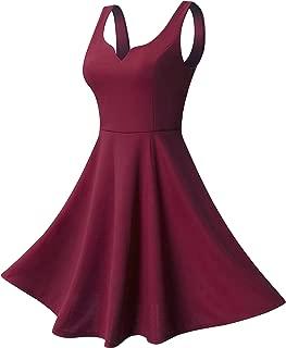 Best dark red dress Reviews