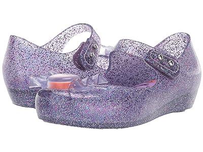 Mini Melissa Ultragirl Trick or Treat BB (Toddler/Little Kid) (Glitter/Purple) Girls Shoes