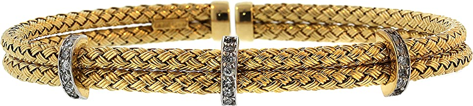 meshmerise diamond cuff bracelet