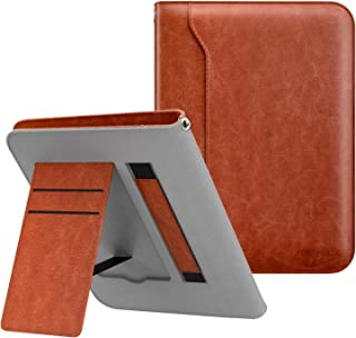 MoKo Case Compatible with Kindle Paperwhite, Premium PU Leather Shell Cover with Card Slot Fits All Paperwhite Generations Prior to 2018 (Will not fit All Paperwhite 10th Generation) - Brown