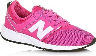 247 Classic Shoe Junior's Casual 7 Pink Flamingo-White