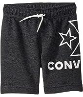 Wrap Around Logo Shorts (Little Kids)