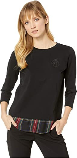 Monogram-Embroidered Top