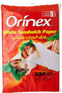 Orinex Sandwich Paper, 500Sheet, White