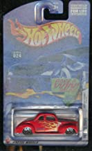Hot Wheels 2002-024 '40 Ford Coupe 12 of 42 First Edition 1:64 Scale