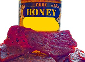 BEST Premium Slightly Sweet 4 OZ. Mild and Tender Honey Glazed Beef Steak Jerky from Colorado USA - Wood Smoked With Hickory Wood by Climax Jerky - Buy Multiple Packs and Save!