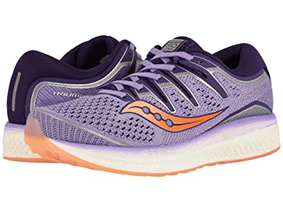 Saucony Triumph ISO 5 (Purple/Peach) Women