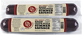 Cajun Beef Summer Sausage 1lb each (2 rolls)