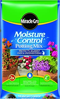 Miracle-Gro Moisture Control Potting Mix, 2-Cubic Foot