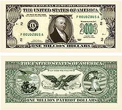 (25) Patriot Million Dollar Bill