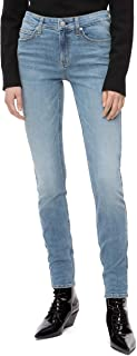 Calvin Klein Women's Mid Rise Skinny Fit Jeans