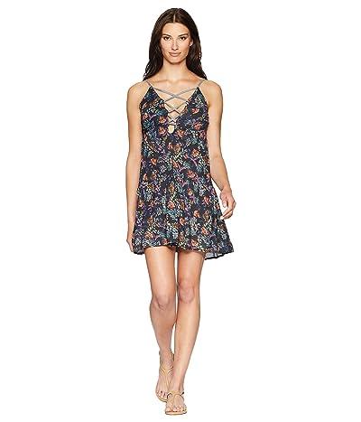 Lucky Brand Sunset Boulevard Swing Dress Cover-Up (Multi) Women