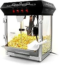Paramount 6oz Popcorn Maker Machine - New Upgraded Feature-Rich 6 oz Hot Oil Popper [Color: Black]