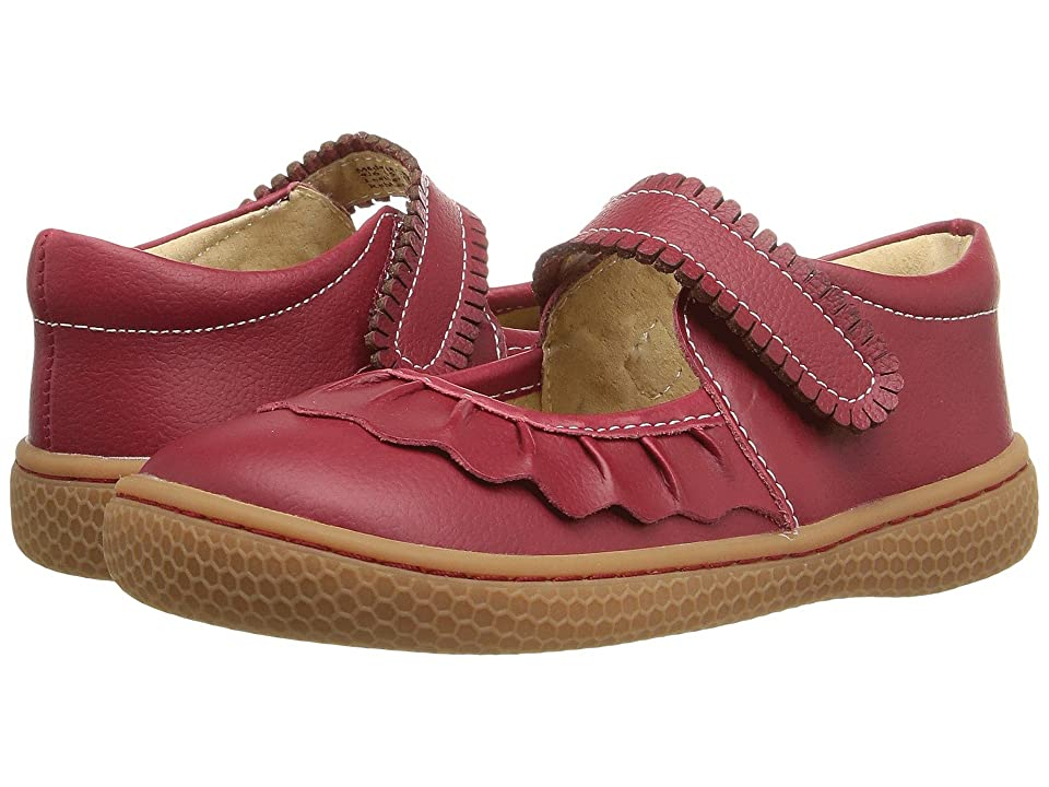 Livie & Luca Ruche (Infant/Toddler/Little Kid) (Scarlet) Girls Shoes