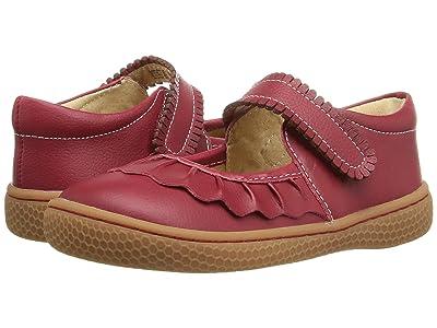 Livie & Luca Ruche (Infant/Toddler/Little Kid) (Scarlet) Girls Shoes