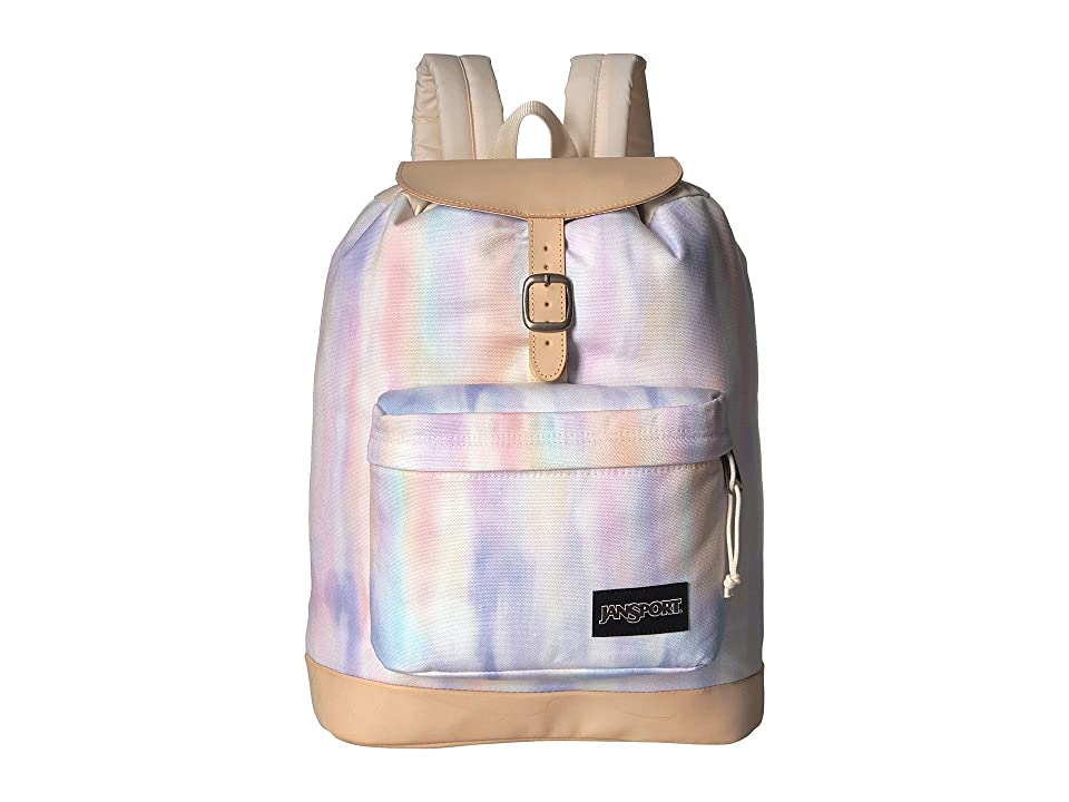 JanSport Haiden (Sunkissed Pastel Poly Canvas) Backpack Bags