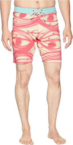 Thomas Campbell Four-Way Stretch Boardshorts