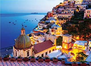 Best Puzzles for Adults 1000 Piece-Amalfi Coast Jigsaw Puzzle Gift,Signature Collection Twilight Sea Sight Large Puzzle Game,Jigsaw Puzzles Toys for Kids Review