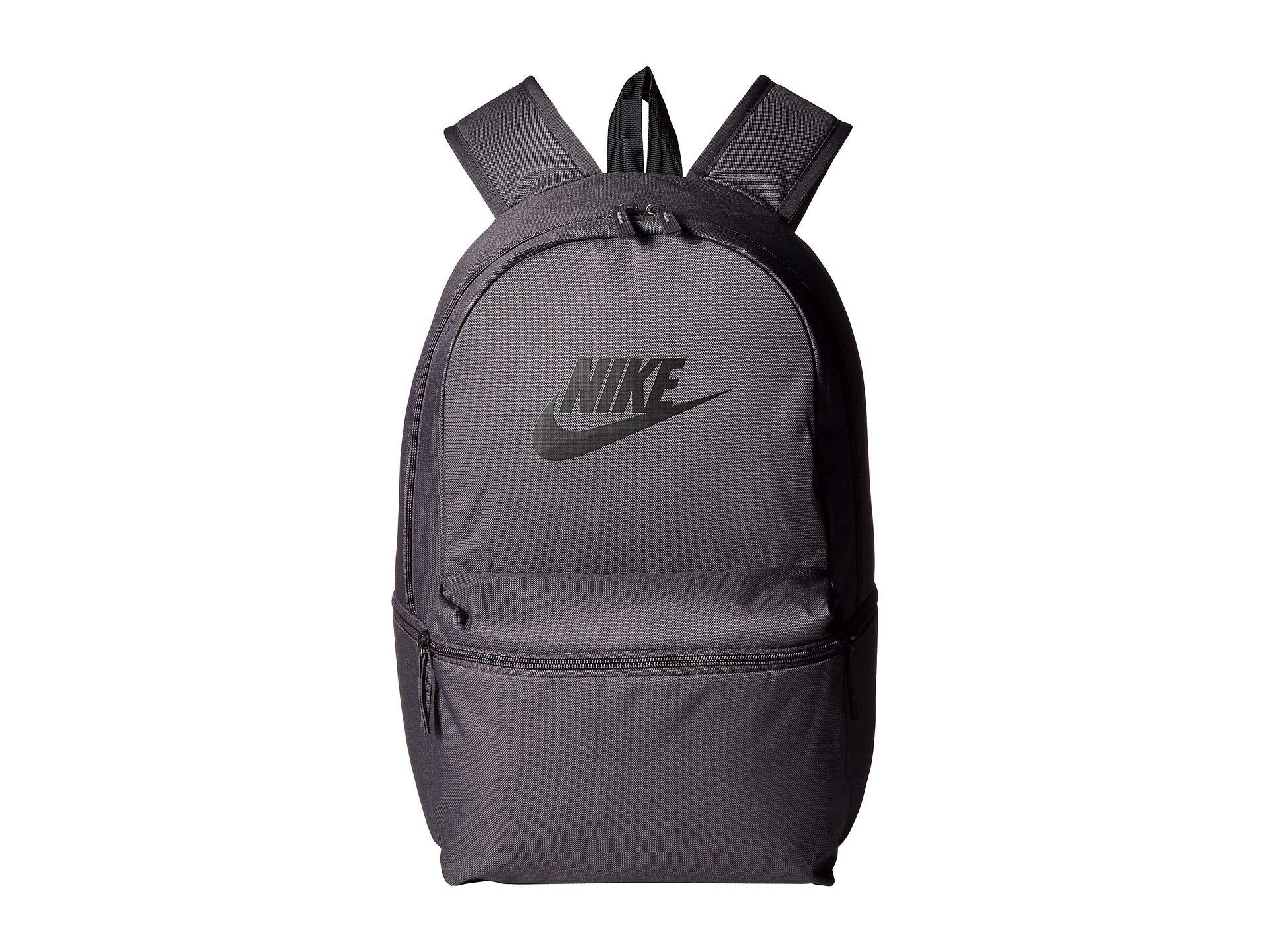 1417c16444cb Grey Backpack Heritage Backpacks Thunder black Nike Solid black qSICxwxFg
