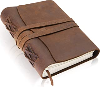 handcrafted leather notebooks