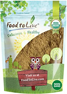 Organic Ginger Root Powder, 1 Pound - Non-GMO, Kosher, Bulk, Raw Ground Ginger Root, Flour