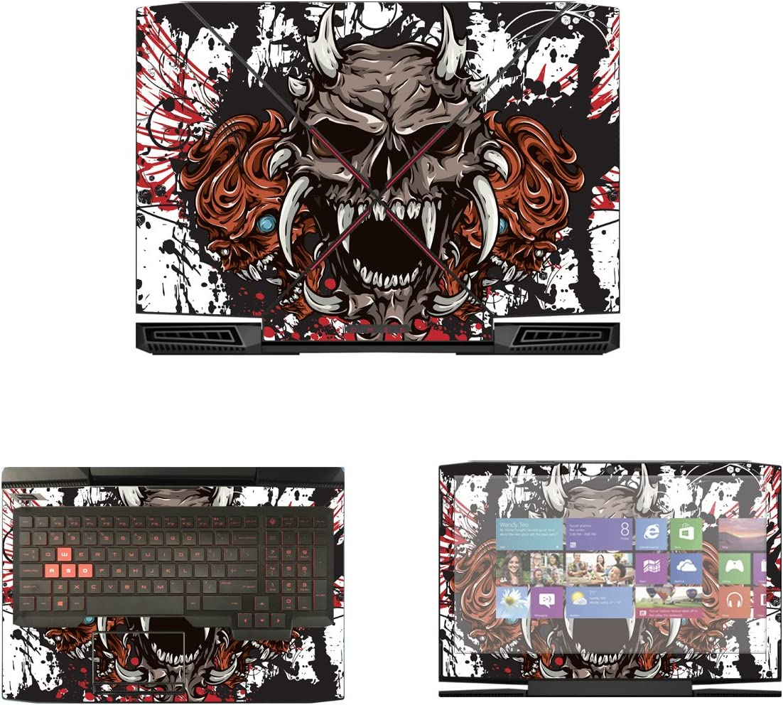Decalrus - gift Protective Factory outlet Decal Skin for 15-CE011DX Omen Sticker HP