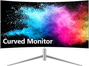 $159 » Z-Edge U24C 24-inch Curved Gaming Monitor, Full HD 1080P 1920x1080 LED Backlight Monitor, with 75Hz Refresh Rate and Eye-C...