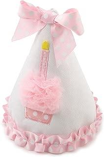 Mud Pie Baby-girls Newborn Cupcake Birthday Hat