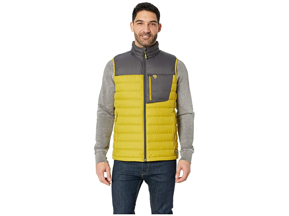 Mountain Hardwear Dynothermtm Down Vest (Dark Citron) Men